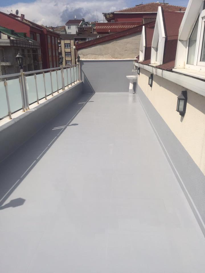 polyurea teras izolasyonu
