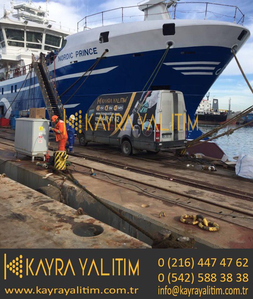 Poliüretan Sprey Balıkçı Teknesi Yalıtımı